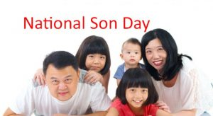 National Sons Day 2019