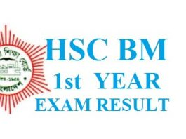 HSC BM 1st Year Exam Result 2019