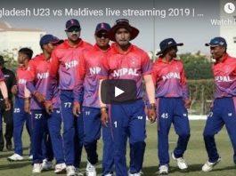 Bangladesh Under-23s VS Maldives