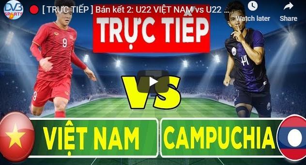 Cambodia u22 vs Vietnam u22