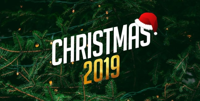 25th December Christmas Day 2019