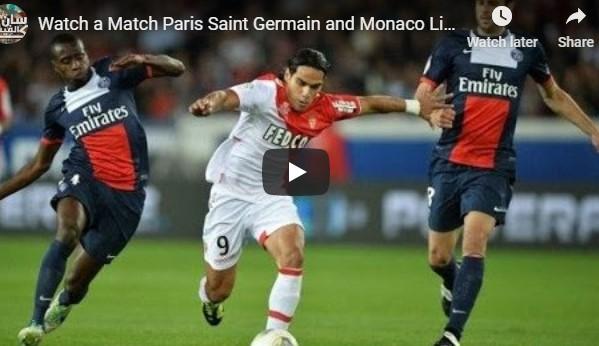 Monaco vs Paris Saint-Germain