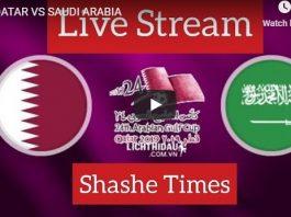 Saudi arabia vs Qatar Live