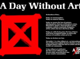 day without art 2019