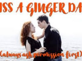 Kiss a Ginger Day 2020