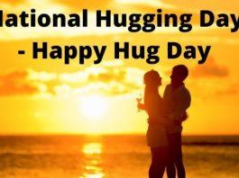 National Hug Day 2020