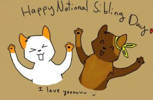 Happy National Siblings Day 2021