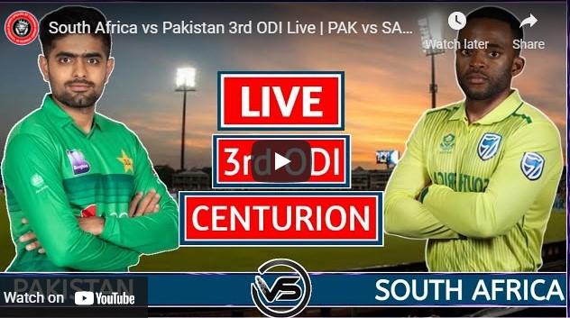 Pak vs SA