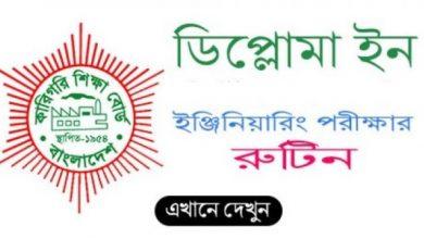 Polytechnic All Exam Postponed Notice 2021