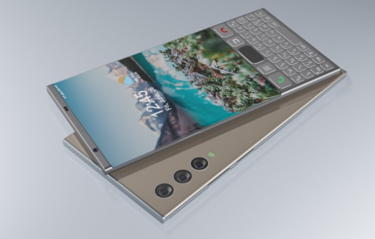 New BlackBerry Venice 5G (2022)